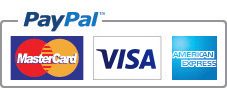 Accepted payments: Paypal, Visa, Mastercard, Americal Express